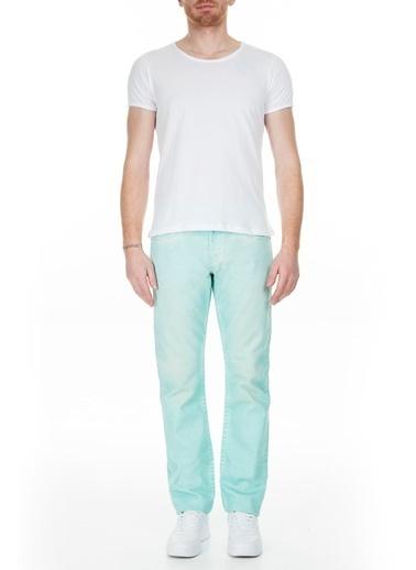 True Religion  Jeans Erkek Kot Pantolon M58J19Y13 Mavi